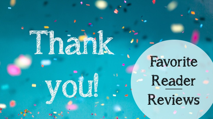 Thank you to my readers!